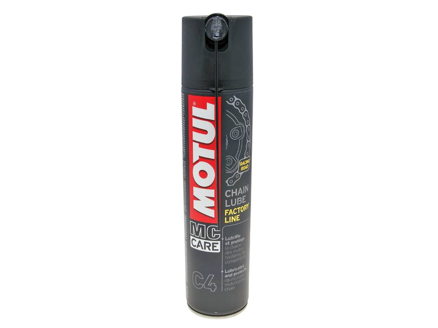 Spray para Corrente Motul Chain Lub C4 Factory Line 400ml