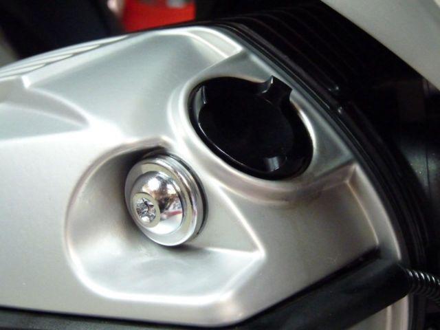 Tampa de óleo do Motor BMW R1200 GS Vermelho