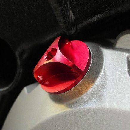 Tampa de óleo do Motor BMW S1000RR 3 Pontas Dourado