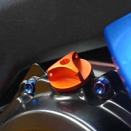 Tampa de óleo do Motor BMW S1000RR 3 pontas Vermelho