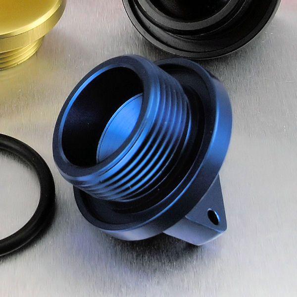 Tampa de óleo do Motor BMW S1000RR Reta Azul