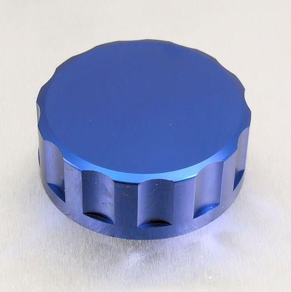 Tampa de reservatório de fluído de freio 61mm Redonda Azul