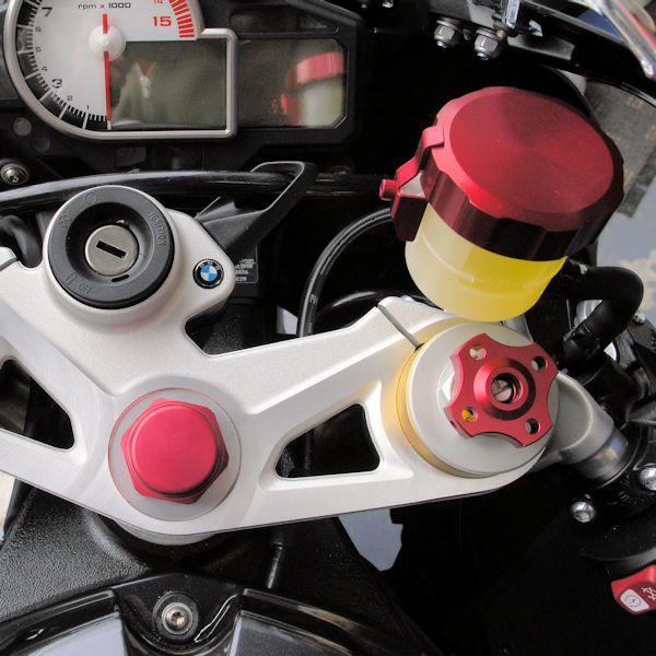 Tampa de reservatório de fluído de freio 61mm Redonda Laranja