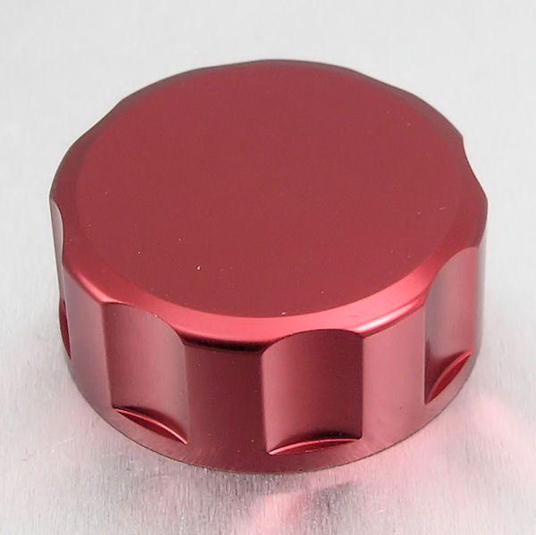 Tampa de reservatório de fluído de freio 61mm Redonda Vermelho