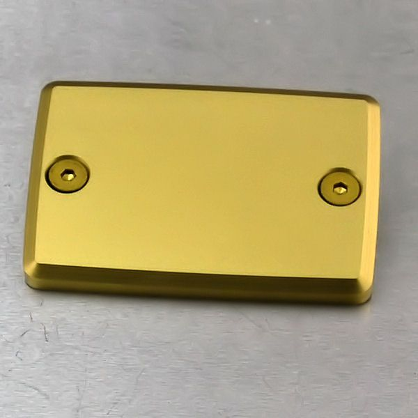 Tampa de reservatório de fluído de freio retangular HORNET Dourada