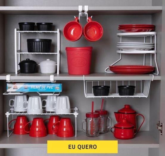 organizadores de armário de cozinha
