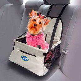 Assento de Carro para Cães e Gatos