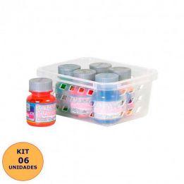Cesto Organizador Pequeno Plasútil - Kit 6 peças