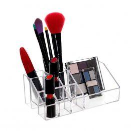 Organizador de Maquiagem em Acrílico 09 Nichos