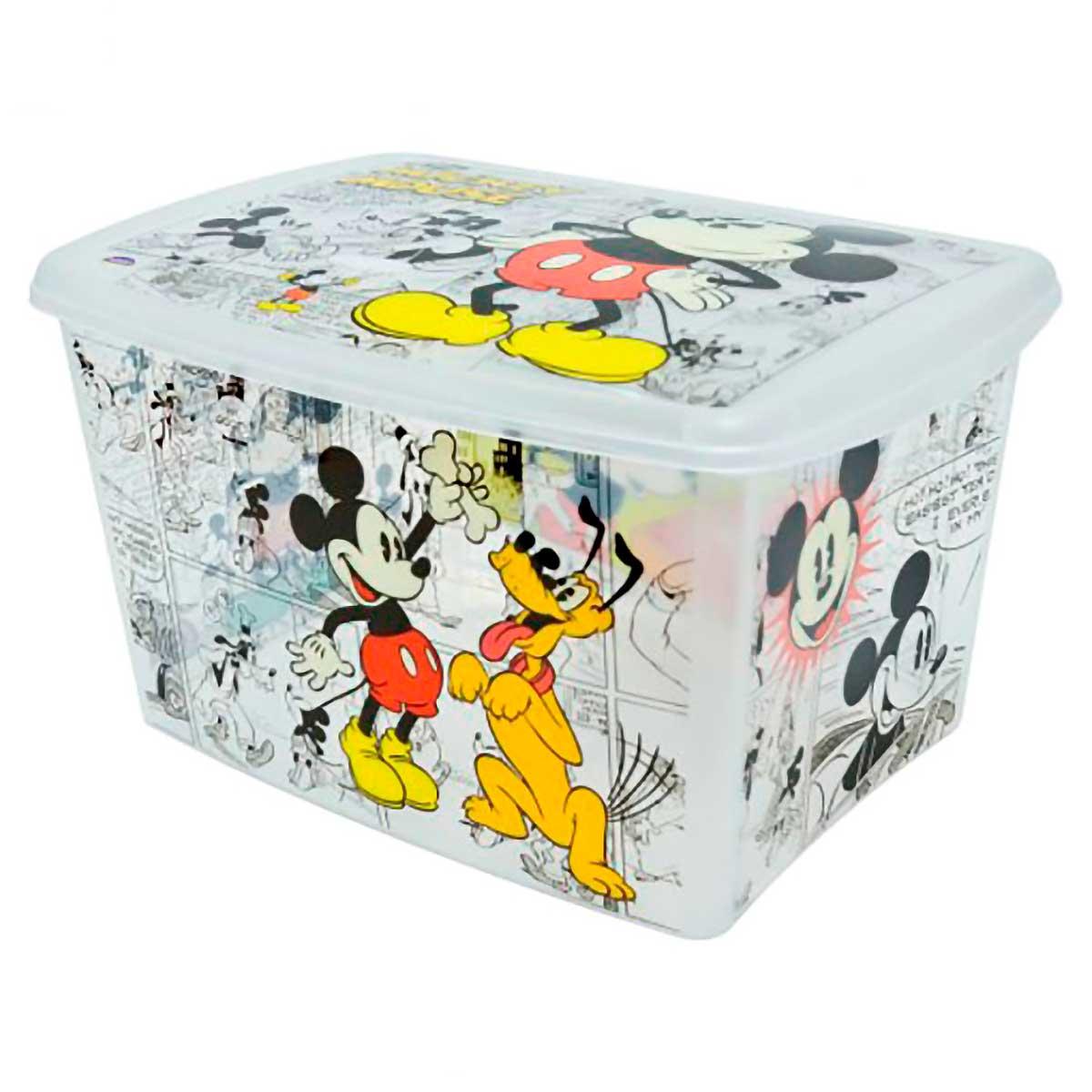 Caixa Organizadora Decorada Mickey 18,7 L