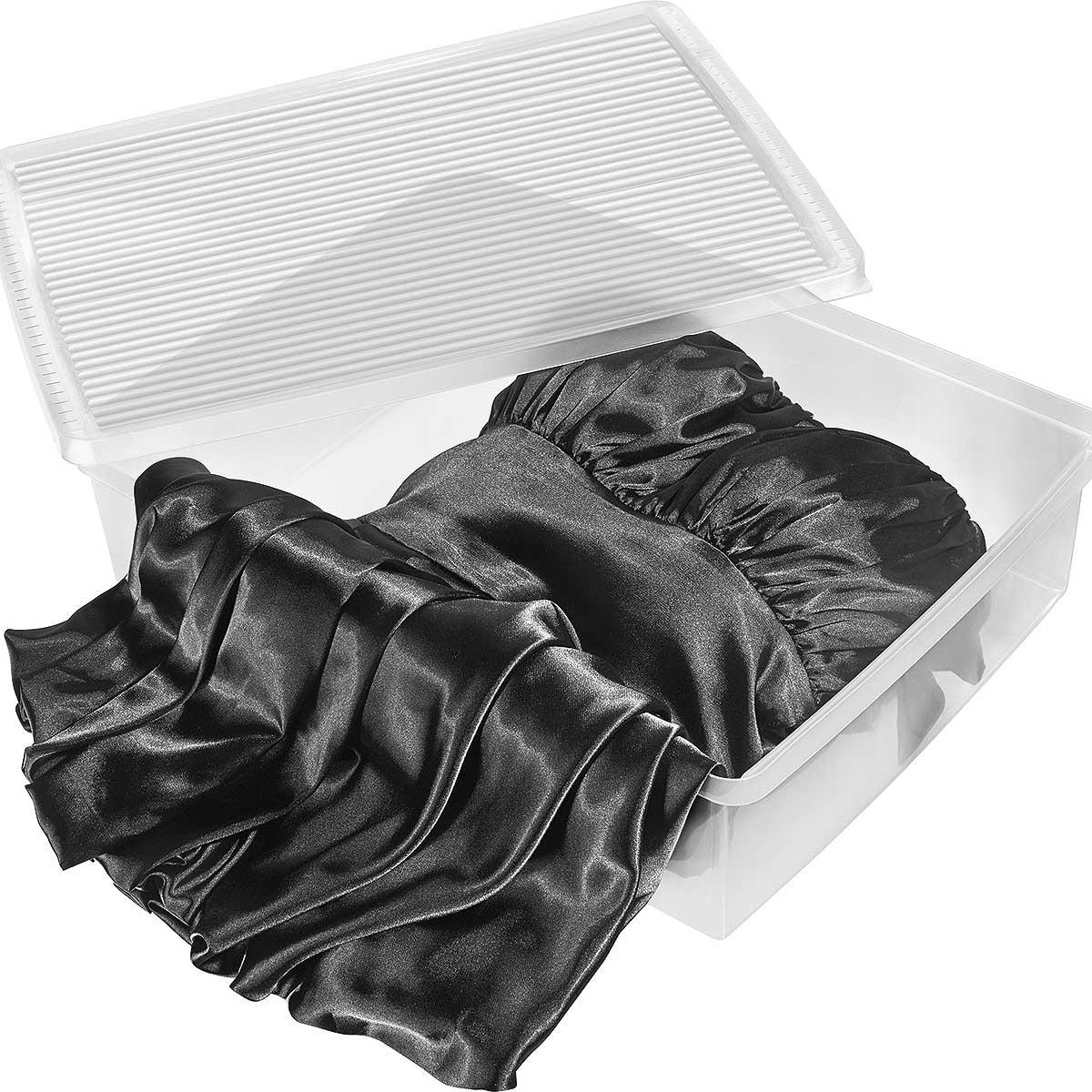 Caixa Organizadora Transparente para Botas - Kit 3 Pç