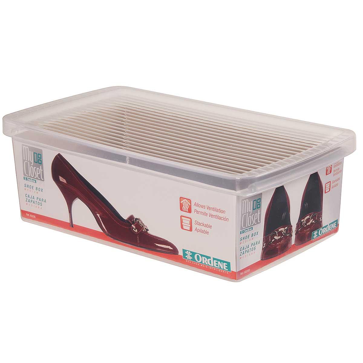 Caixa para Sapatos Empilhável Média - Leve 6 pague 5