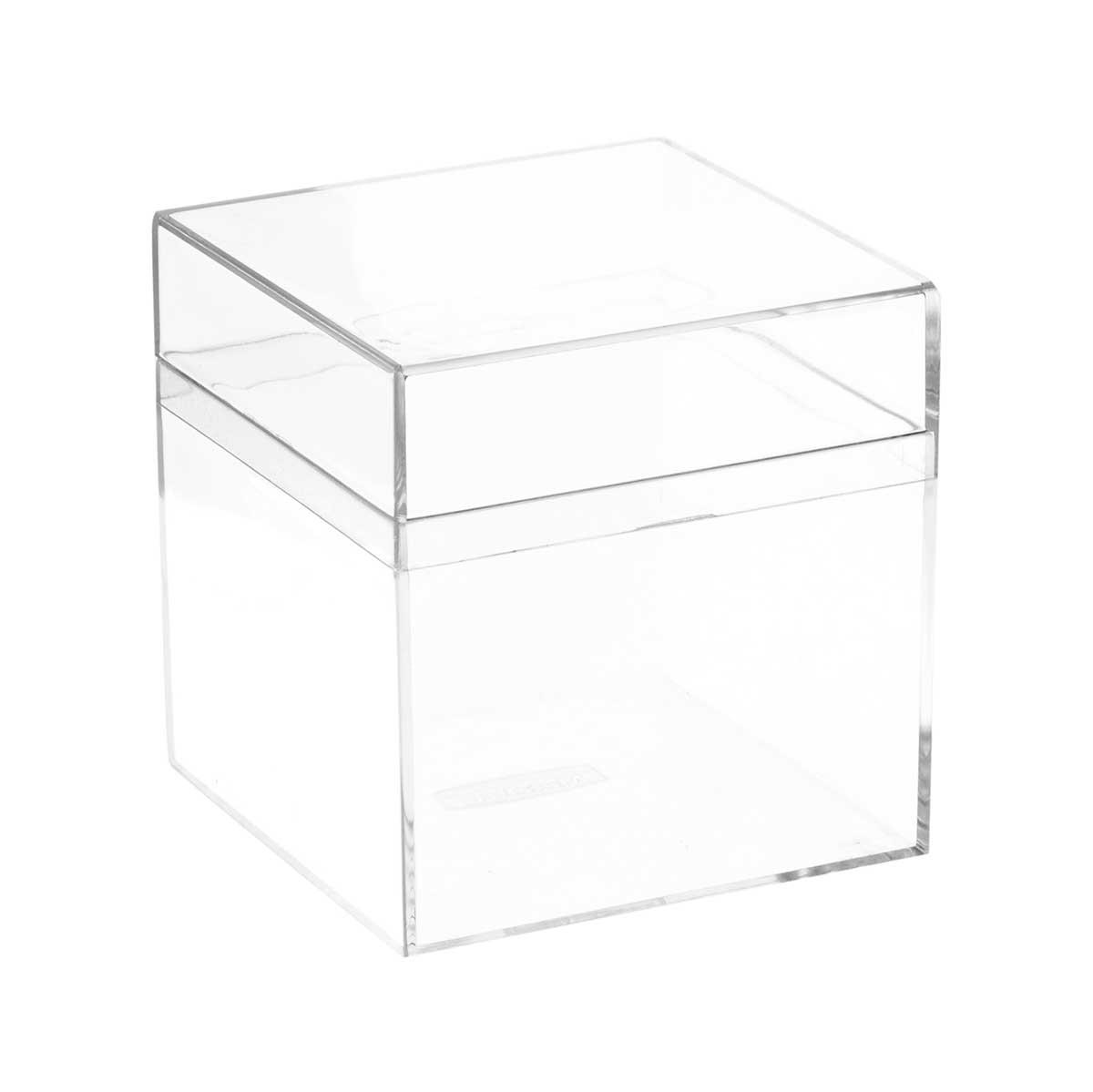 Caixinha de Acrílico Transparente 8 cm