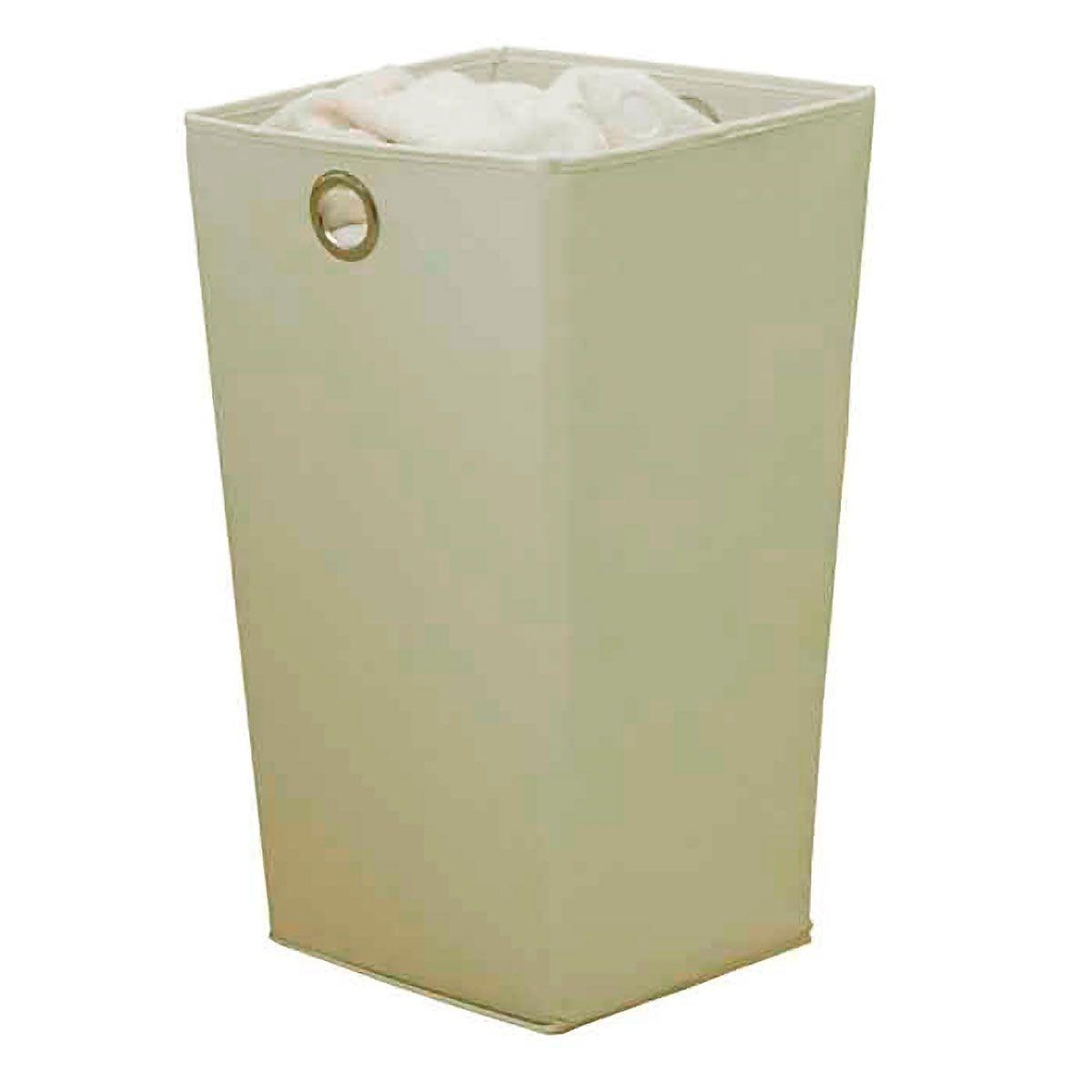 Cesto de Roupas Impermeável 60 litros Bege
