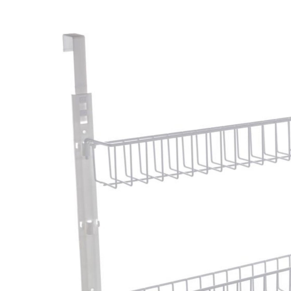Cesto Organizador Duplo Aramado de Parede ou Porta