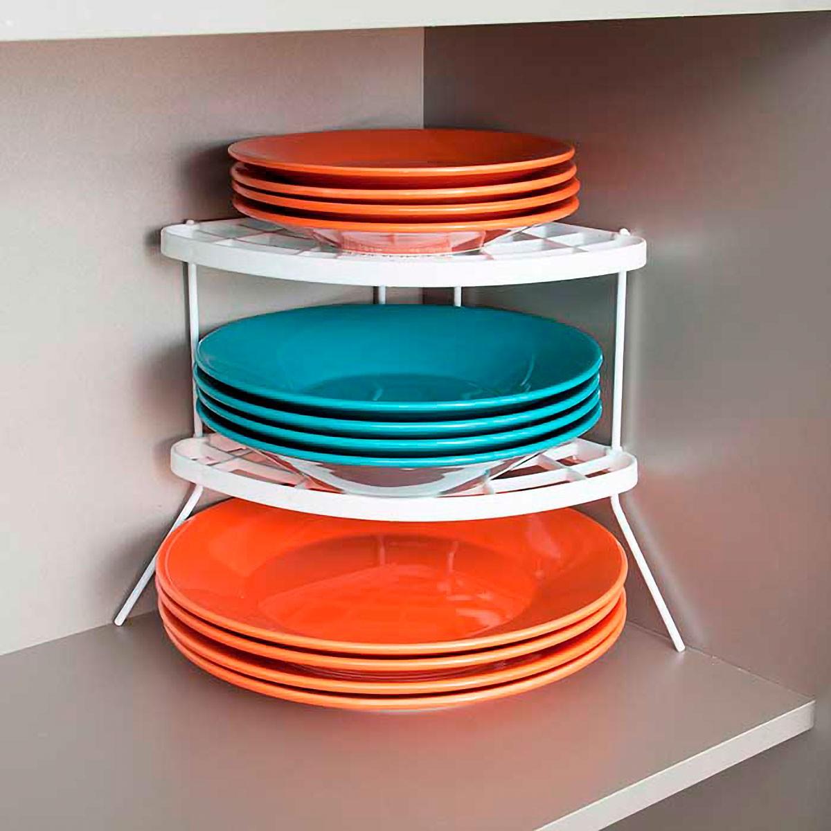 Kit Organizador de Armário de Cozinha 4 peças