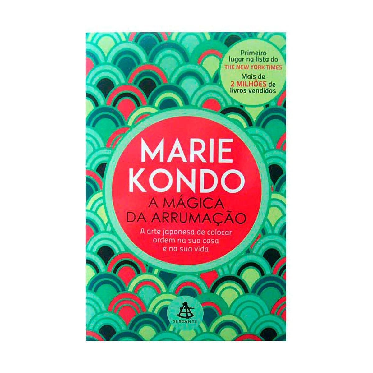 Livro A Mágica da Arrumação - Marie Kondo