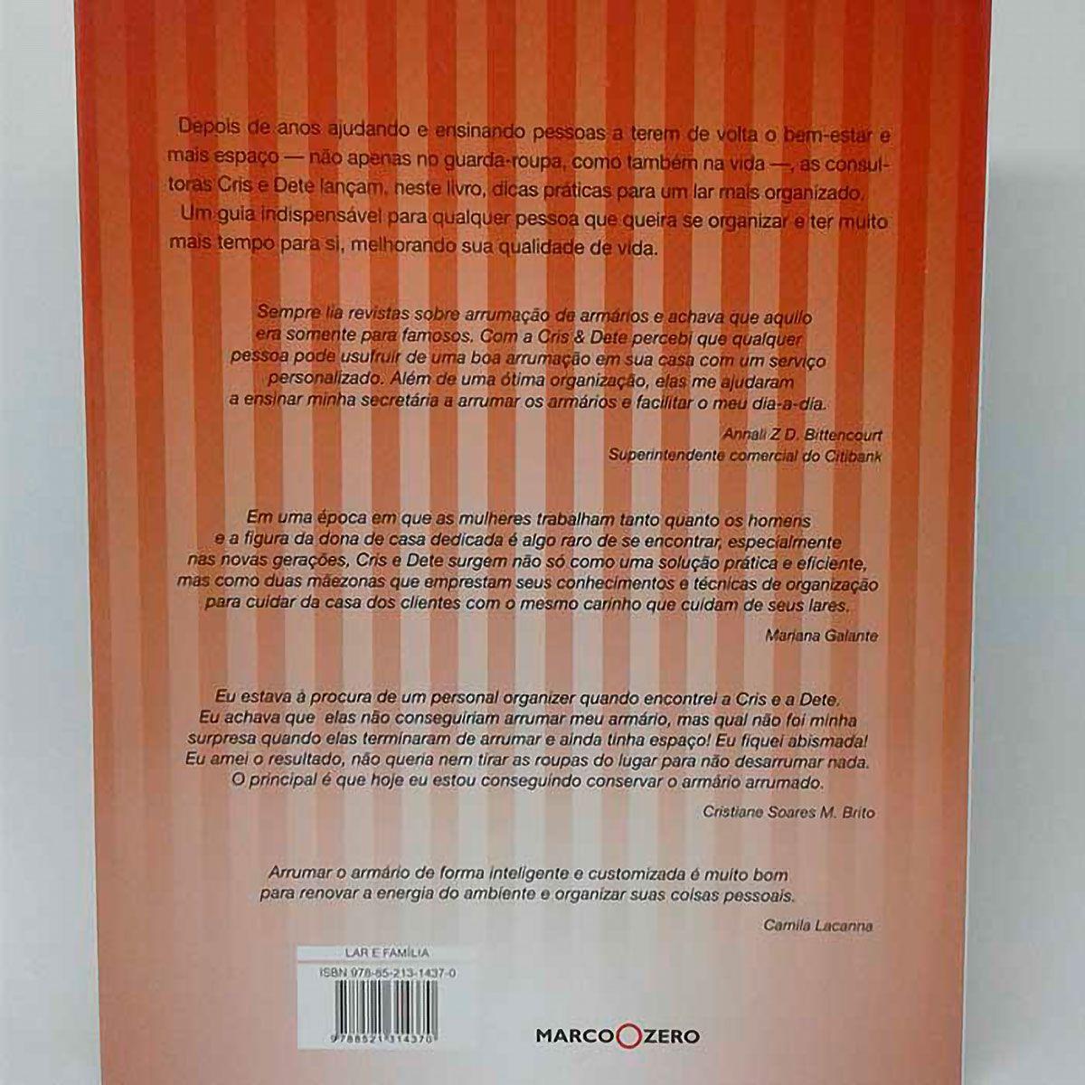 Livro Chega de Bagunça - Organize-se