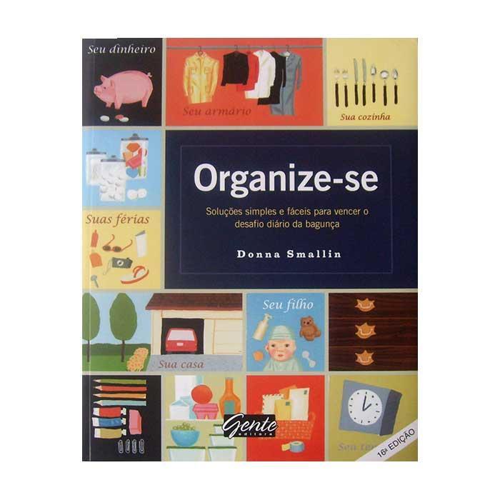 Livro Organize-se - Donna Smallin