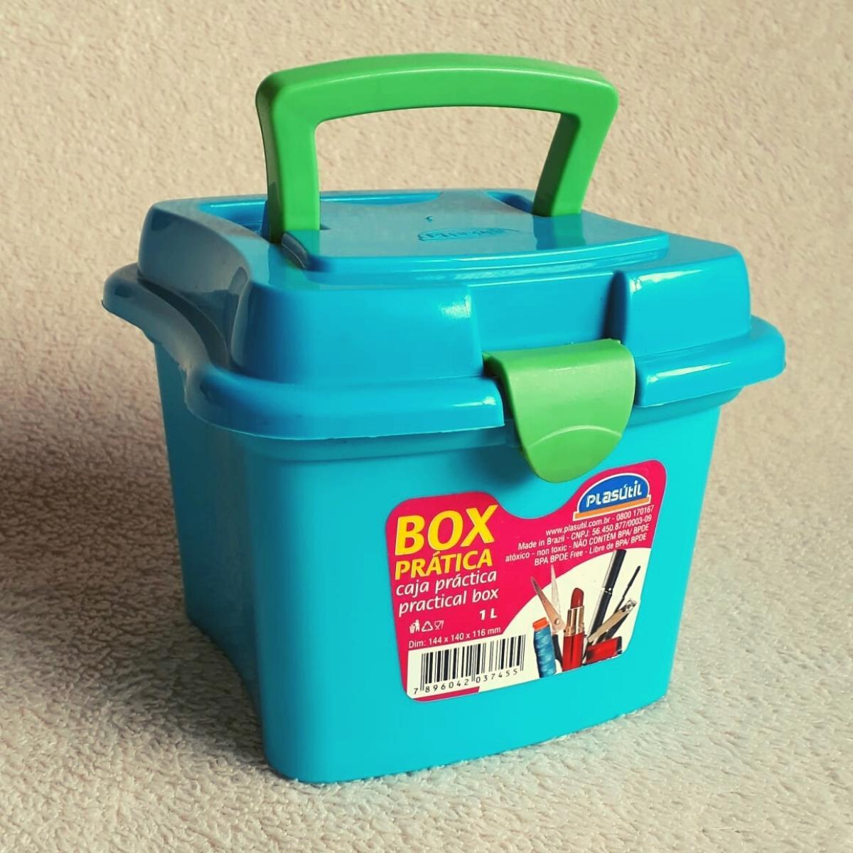 Maleta de Plástico Organizadora Pequena