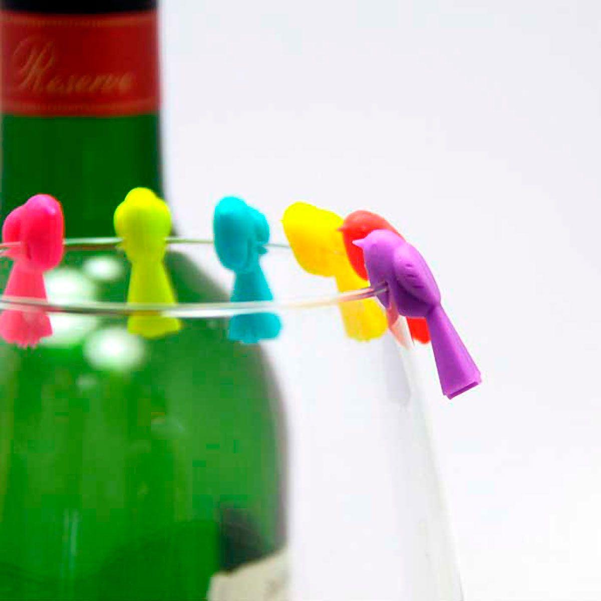 Marcador de Taça de Silicone Colorido 06 un