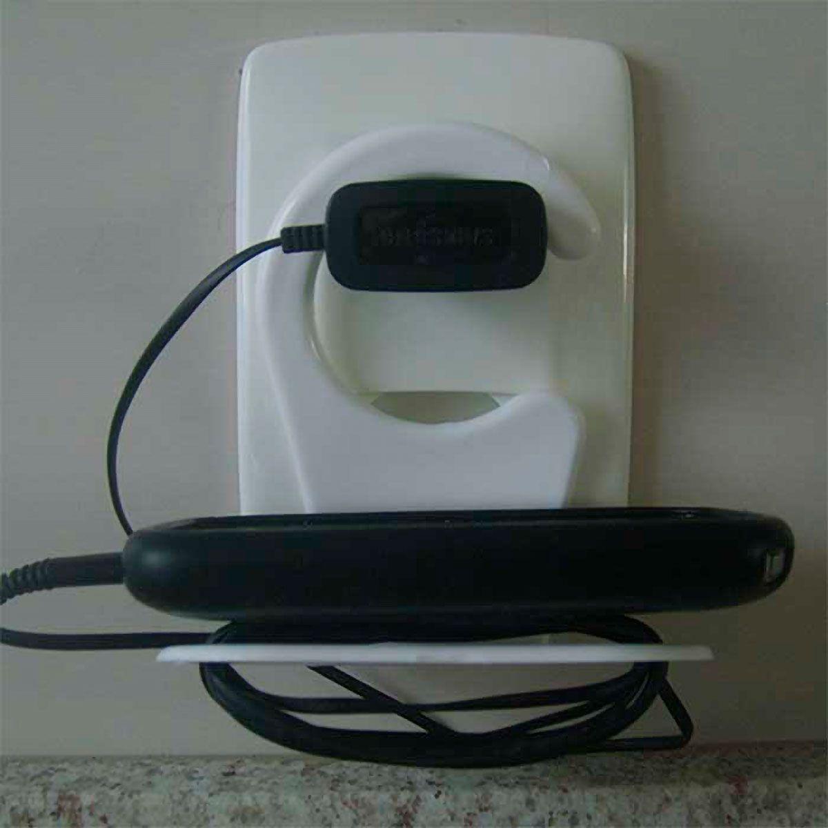 Porta Carregador de Celular para Tomada