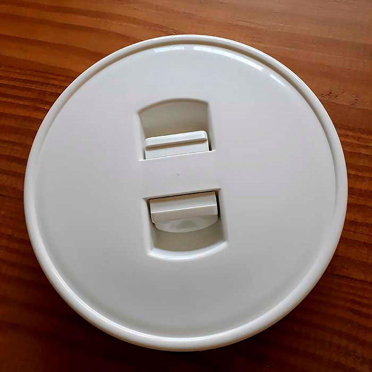 Pote Hermético para Mantimentos em Acrílico 1 Litro