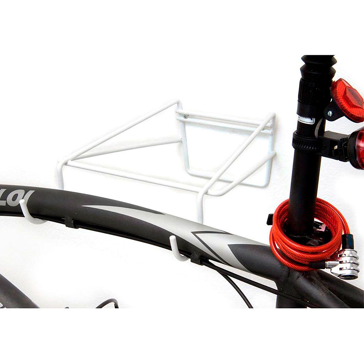 Suporte Horizontal de Parede para Bicicleta