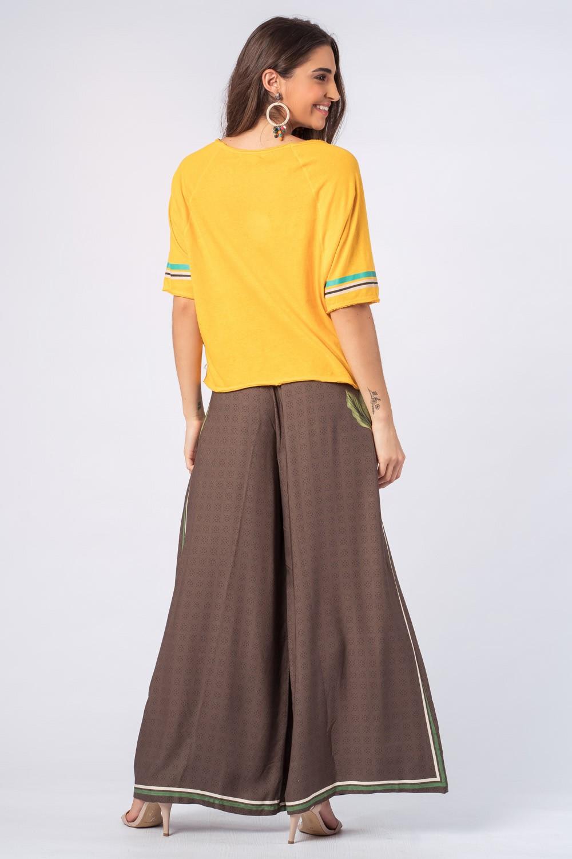 Blusa Arara Brasil Amarelo