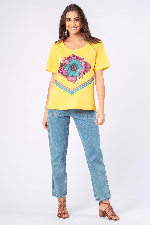 Blusa Coleção Time Munny 10 Amarela