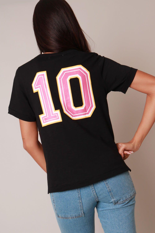 Blusa Coleção Time Munny 10 Preta