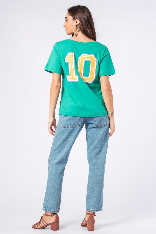 Blusa Coleção Time Munny 10 Verde Claro