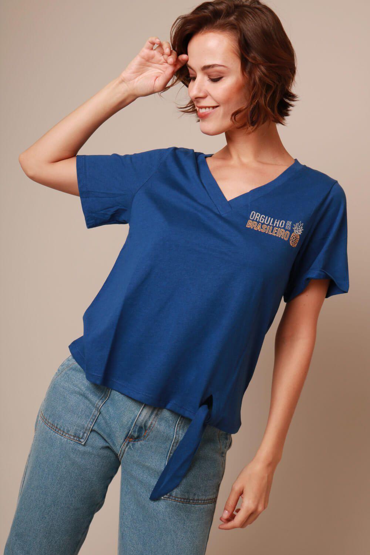 Camiseta Coleção Time Munny Azul