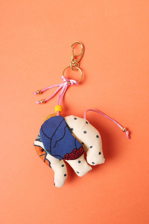 Chaveiro Elefantinho Multicolorido