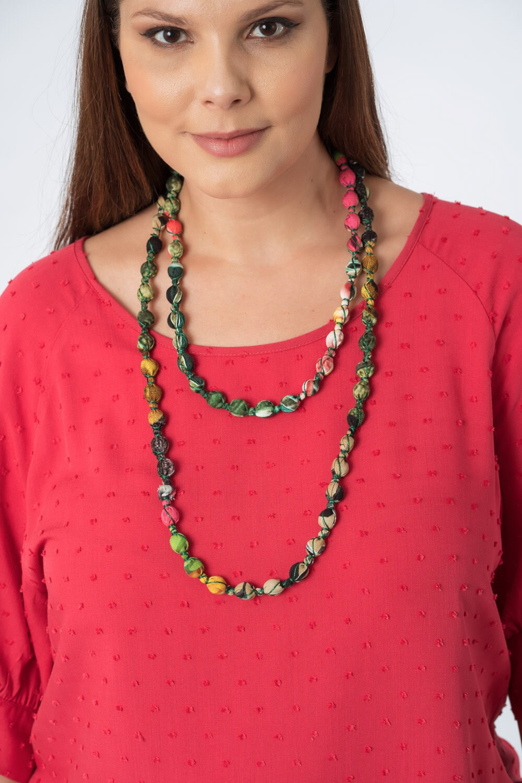 Colar Multicolorido Verde