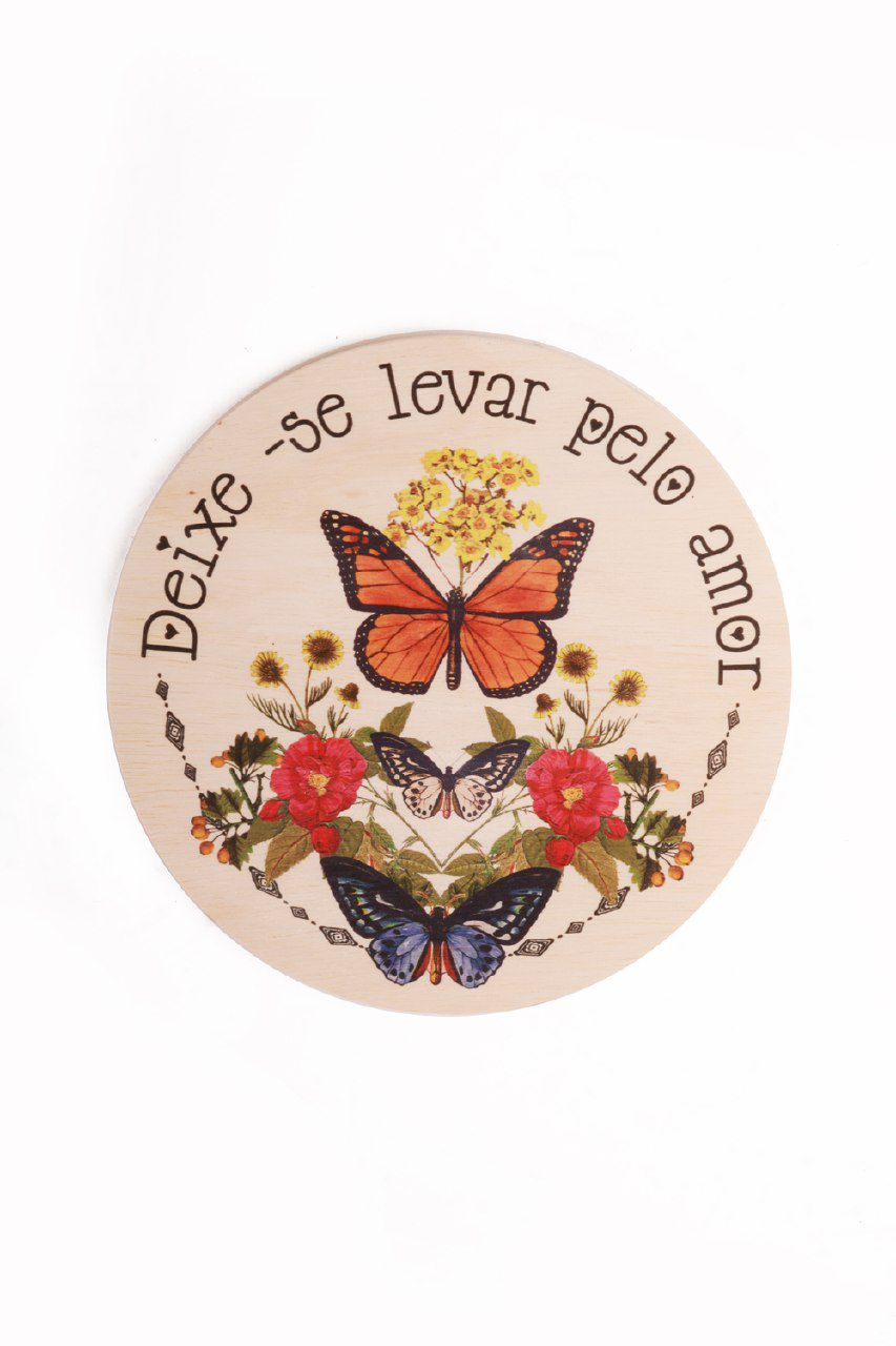 DECOR DEIXE-SE LEVAR PELO AMOR