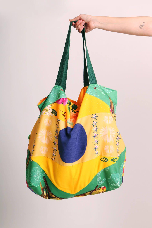 ECOBAG RE-VIVA PATCHWORK BANDEIRA DO BRASIL-5
