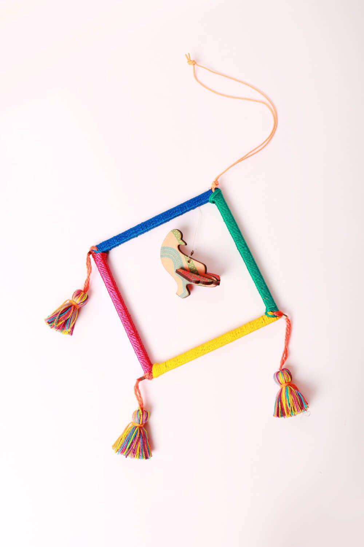 Filtro dos Sonhos Tassel Colorido
