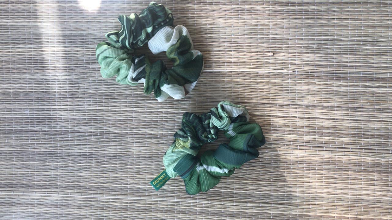Frufru Estampado Verde
