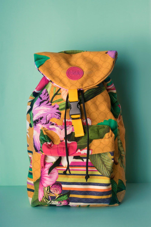 Mochila Estampada Inspire-se Amarela