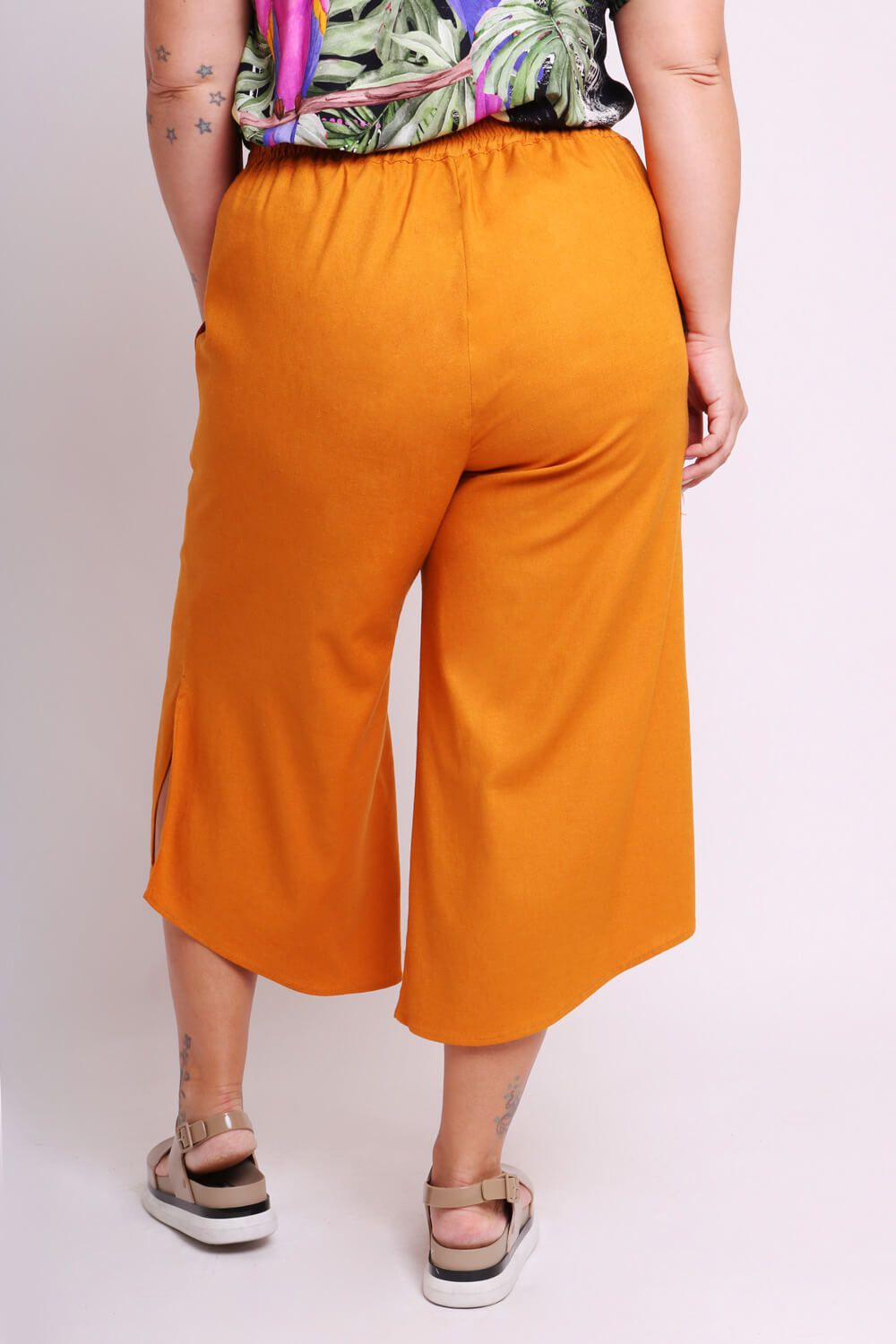 PANTACOURT PLUS SIZE LISA TERRACOTA