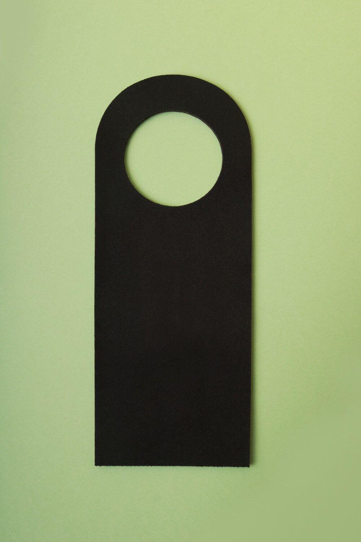 Placa de Porta Estampada Abacaxi Tie Dye