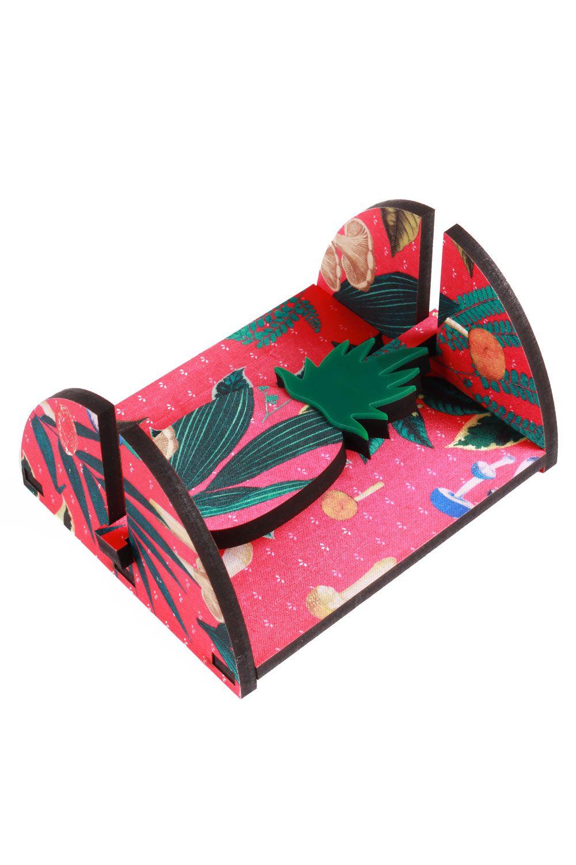 Porta Guardanapo Abacaxi Rosa