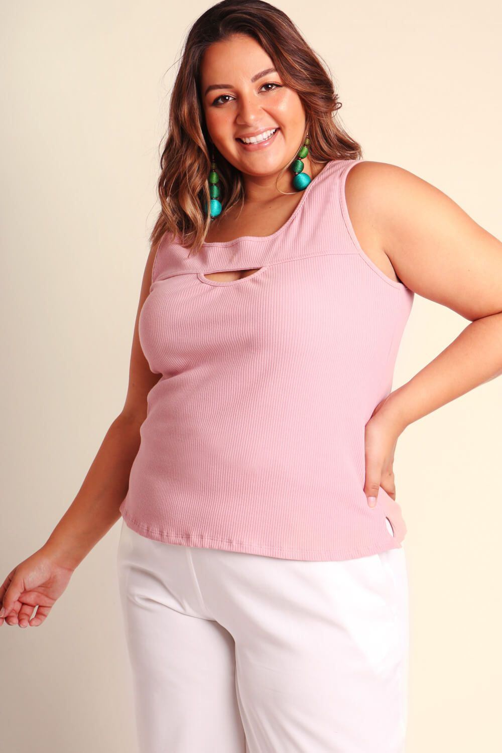 REGATA PLUS SIZE LISA ROSA