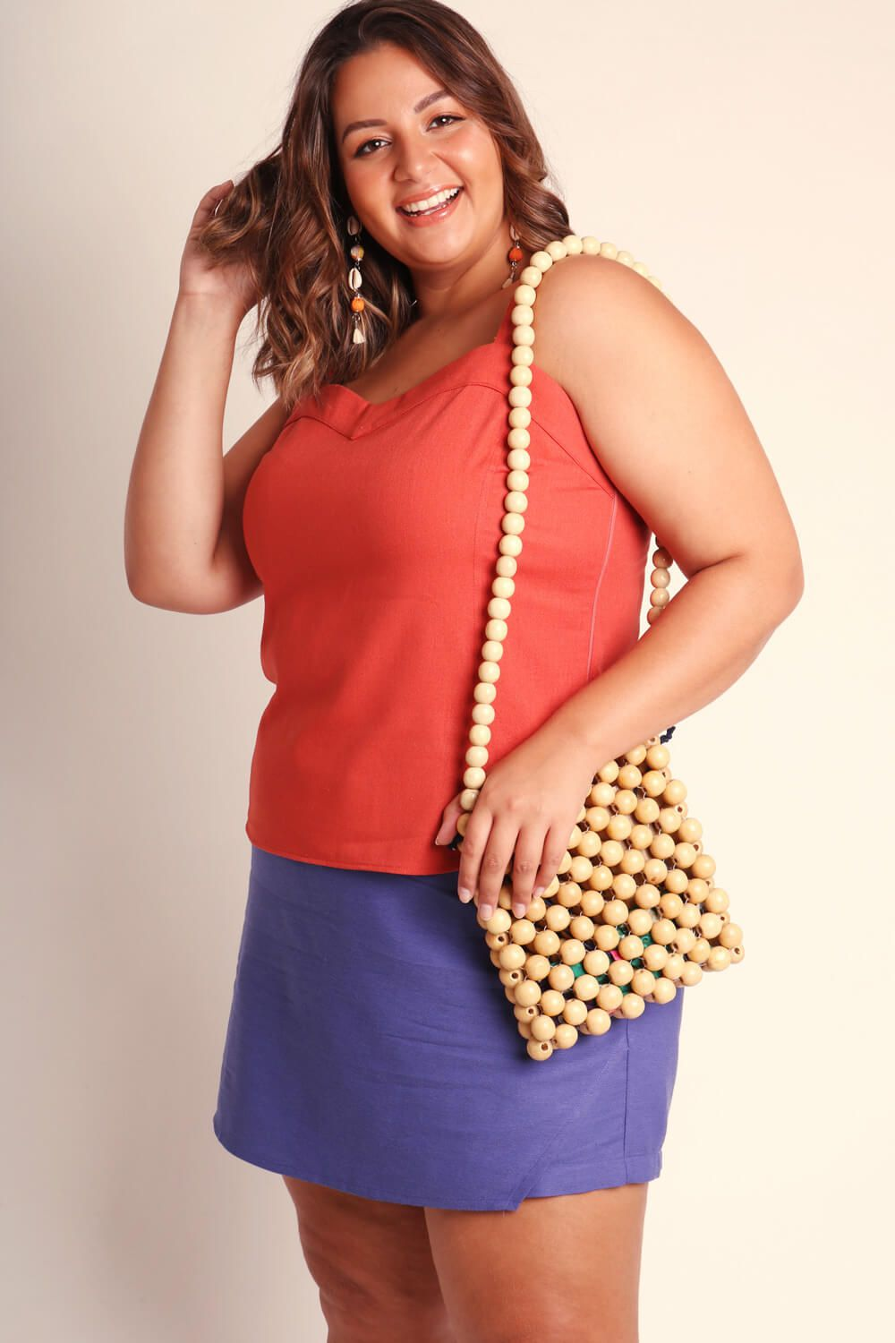 REGATA PLUS SIZE LISA TERRACOTA