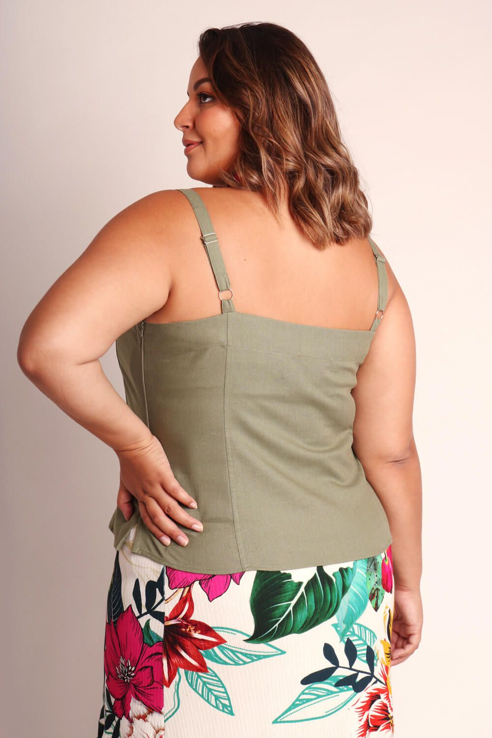 REGATA PLUS SIZE LISA VERDE