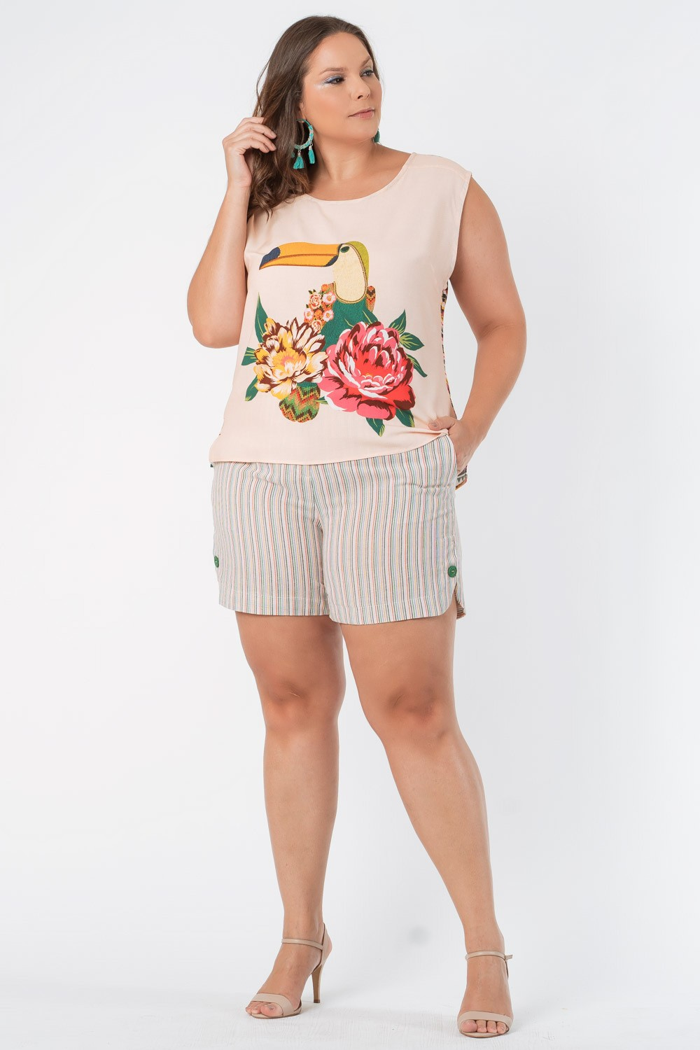 REGATA ESTAMPADA PLUS SIZE TUCACHITA