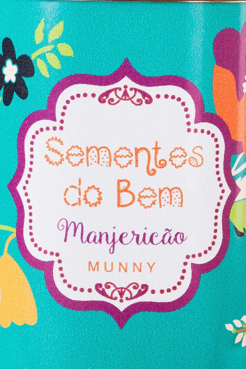 SEMENTES DO BEM- MANJERICÃO