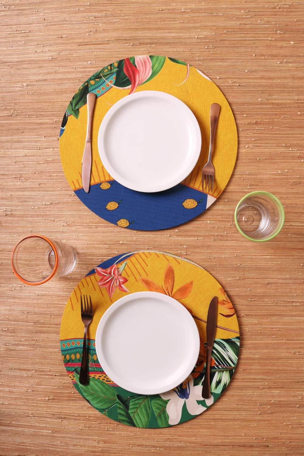 SOUPLAT ESTAMPADO KIT COM 2 UN-FLOR DO BRASIL