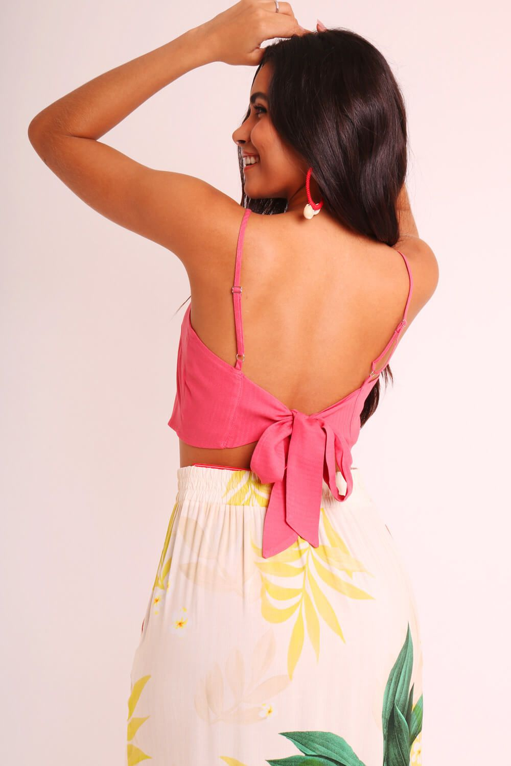 TOP LISO CORAL